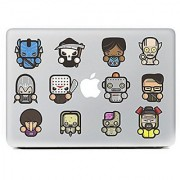 JMM - Pattern1 Cartoon Characters Design Laptop Notebook Skin Sticker Cover Vinyl Art Decal for 11 13.3 15.6 inch Appl