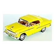 "Motormax GOTZMM73184YL 1:18 Scale Yellow ""1955 Chevrolrt Bel Air"" Die Cast Model Car"