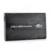 """Yaosheng IDE vers USB 2.0 disque dur externe en aluminium Box Case 2.5 """"Mobile Drive disque dur - noir"""