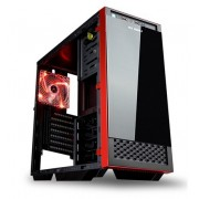 Caja Sobremesa In Win Gaming 503 Black / red. ATX , USB 3.0, Sin Fuente