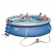 Bestway Fast Set Pool Komplett Set 457x107 57294 GS