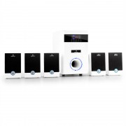 Auna Equipo altavoces home cinema 5.1 95W RMS AUX