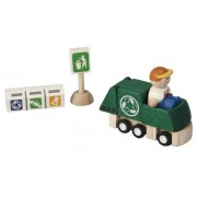 Plan Toys Recycling Truck Set