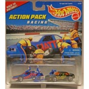 Mattel Hot Wheels 1996 Action Pack Series 1:64 Scale Die Cast Metal Car # 16155 - RACING Race to Victory with T-Bird Sto