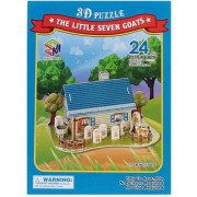 Magic Puzzle - Sheep's House 3D Puzzle