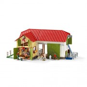 Schleich North America Large Farm With Animals & Accessories