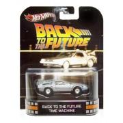 Hot Wheels Retro Entertainment Series Back To The Future Time Machine Delorean Car by Hot Wheels