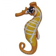 20 H x 5 W x 4.5 L Inflatable Sea Horse Inflatable Children's Ocean Animals Toys can be used for teaching