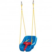 Little Tikes 2-in-1 Snug and Secure Swing Blue
