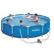Bestway - Семеен басейн с метална рамка - 366 х 81см