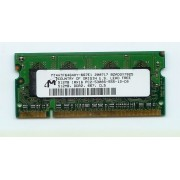 Mémoire MT 512 Mo DDR2 - So DIMM 200 broches - 667 MHz - PC2 5300