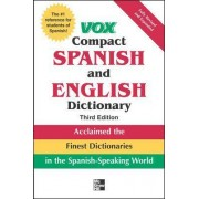 Vox Compact Spanish and English Dictionary by Vox