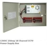 Casey 12VDC 25Amp 18 Channel CCTV Power Supply