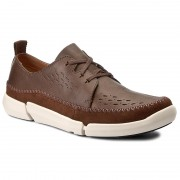 Обувки CLARKS - Trifri Lace 261271997 Brown Leather