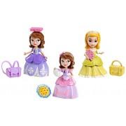Mattel - Muñeca Princesa Sofía y Amber Movimientos Mágicos