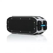 BRAVEN BRV-Pro Wireless Bluetooth Speaker [Waterproof][15 Hour Playtime] - Silver/Black/Cyan