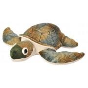 "Wild Republic-18268 25 cm è WAZA biodiversità Us Endangered Species Green Sea Turtle ""di peluche"