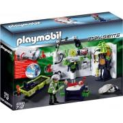 Playmobil Top Agents Robo-Gangsterlaboratorium met Multifunctioneel Licht - 4880