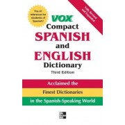 Vox Compact Spanish and English Dictionary, Hardcover
