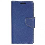 Zaoma Diary Type Flip Cover for Panasonic Eluga A2 - Blue