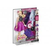 Păpușa Barbie, cu dulap la modă, cu părul blond