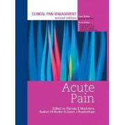Clinical Pain Management: Acute Pain by Pamela E. Macintyre
