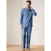 Walbusch Jersey-Schlafanzug Blau 48