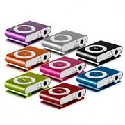 Leitor de Mídia, Música, MP3 com Clipe (Cartão Micro SD, TF, 1-8GB, Metalizado)