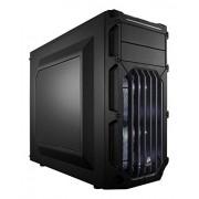 Corsair CC-9011053-WW Case Essential Gaming, Mid Tower Atx Carbide Spec-03, con Finestra e Ventola Frontale a LED, Bianco Nero