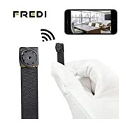 (US) FREDI HD Mini Super Small Portable Hidden Spy Camera P2P Wireless WiFi Digital Video Recorder for IOS iPhone Android Phone APP Remote View