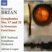 H. Brian - Symphonies No.17 & 32 (0747313202072) (1 CD)