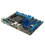 ASUS M5A78L-M LX3 - Placa base - micro ATX - Socket AM3+ - AMD 760G - Gigabit LAN - gráficos en la placa - HD Audio (8-canales)