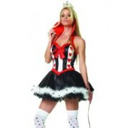 Costume regina di cuori mod. Queen of Hearts