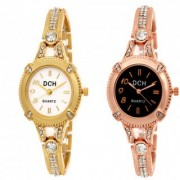 Dch Round Dial Multi Analog Watch Combos For Women-Gw-2