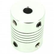 Hub de Cuplaj Flexibil de la 5 mm la 5 mm cu Lungime de 25 mm