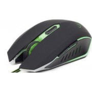 Mouse Gaming Optic Gembird MUSG-001 2400dpi Green