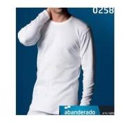 Abanderado camiseta hombre Thermal 100% algodón