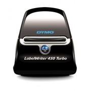 DYMO LabelWriter 450 Turbo - Impresora de etiquetas (600 x 300 DPI, Térmica directa, 71 Ipm, USB 2.0, De serie, 127 mm, 187 mm) (importado)