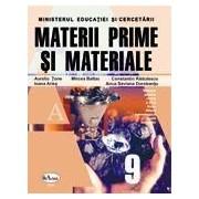 Materii prime si materiale. Manual pentru clasa a IX-a. Filiera tehnologica
