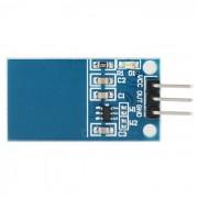 TTP223 a bordo un boton capacitivo Touch Sensor - azul