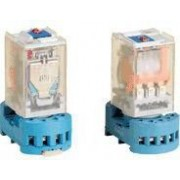 Ipari teljesítmény relé - 48V AC / 2xCO (10A, 230V AC / 28V DC) RT08-48AC - Tracon
