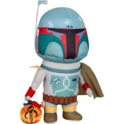 Star Wars Boba Fett Bounty Hunter Halloween Plush Greeter