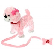 My Dancing Puppy Princess Puppy Walk Along Toy Stuffed Plush Dog, Realistic Dancing & Walking Action