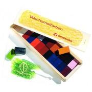 Stuck bloquean crayones de cera de abeja Marr 24 Iroki-Bako 61009 (Jap?n importaci?n / El paquete y el manual est?n escritos en japon?s)