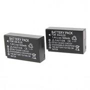 EN-EL20 1020mAh Digitalkamera Batteri med laddare för Nikon J1