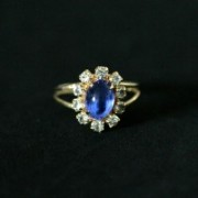 Ring Gold Plated Jewelry Semi Kate