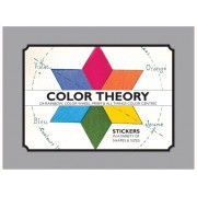 Color Theory - Sticker Box: 82 Rainbow, Color Wheel, Prism and All Things Color-Centric