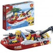 BanBao Fire Brigade Boat 7105