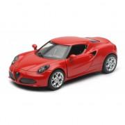 Speelgoedauto Alfa Romeo 4C rood