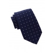 Gant Rugger Wool Polka Dot Tie NAVY
